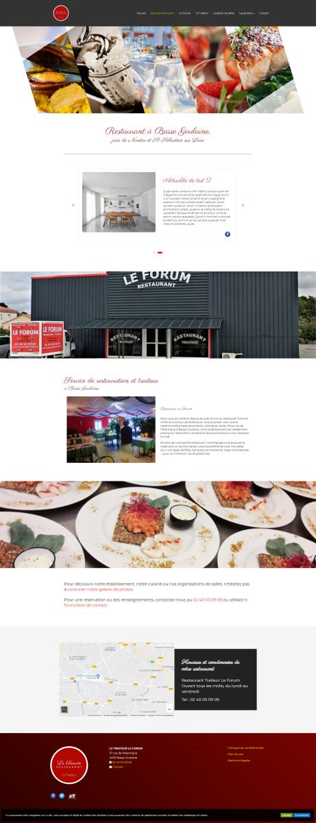 Traiteur et restaurant Le Forum